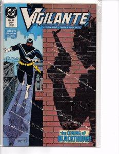 DC Comics Vigilante #45 1st App. Black Thorn