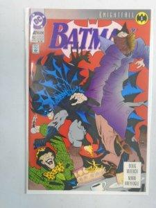 Batman #492 Knightfall part 1 NM (1993 2nd Printing)