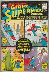 Superman, Giant Annual # 4 Strict VG Affordable-Grade Superboy Jimmy Olsen