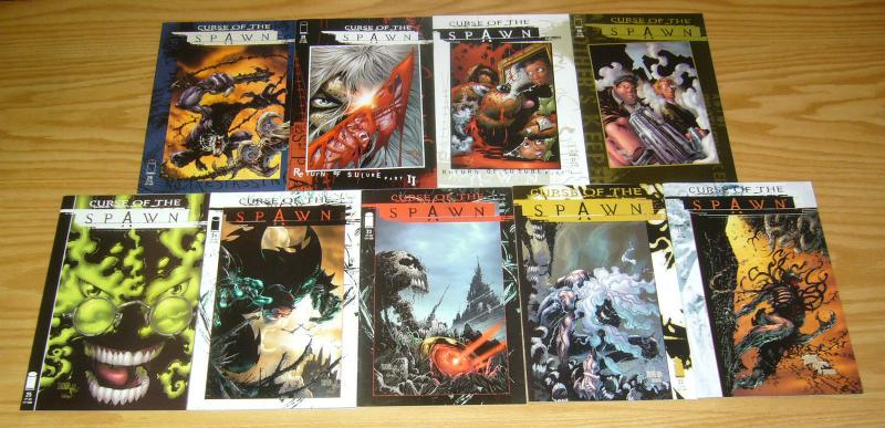 Curse of the Spawn #1-29 VF/NM complete series - image comics - clayton crain