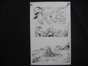 TOM GRUMMETT*X-MEN FOREVER-#15-ORIGINAL ART-PG11-MARVEL FN
