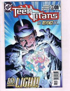 Teen Titans #22 VF DC Comics Comic Book Johns 2005 DE14