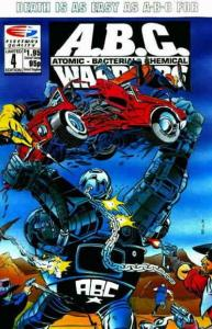 A.B.C. Warriors #4 VF/NM; Fleetway Quality | save on shipping - details inside