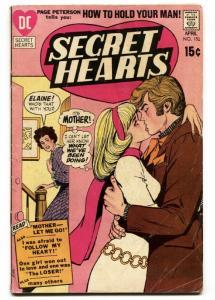SECRET HEARTS #151 1971-DC ROMANCE -MOTHER LET ME GO!