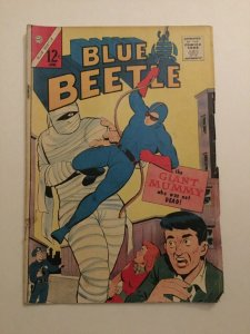 Blue Beetle Voume 2 Issue 1 Vg Very Good 4.0 First 1st Blue Beetle Charlton
