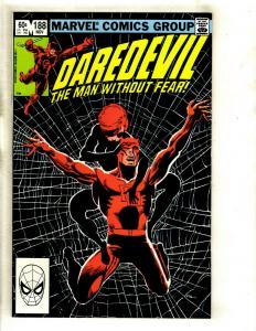 Daredevil # 188 NM Marvel Comic Book Foggy Karen Avengers Defenders Owl GK2