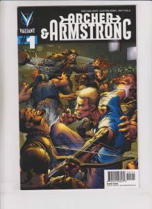 Archer & Armstrong vol. 2 #1 VF/NM neal adams variant 1:100 valiant comics rare