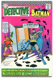 DETECTIVE COMICS #364-BATMAN-RIDDLER APPEARANCE GLOSSY VF-