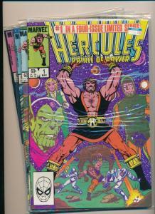 Marvel Mini Series of 4-HERCULES PRINCE OF POWER #1-4 F/VF 1983/'84 (PF471)
