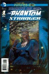 Futures End Trinity of Sin Phantom Stranger 3-D Cover (2014, DC) 9.4 NM