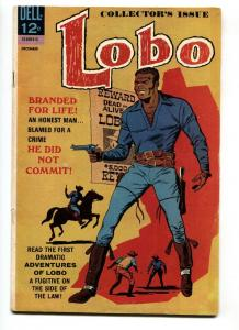 LOBO #1 comic book-FIRST BLACK TITLE CHARACTER-HISTORIC DELL WESTERN