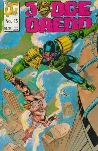 Judge Dredd (Vol. 2) #15 FN; Fleetway Quality | save on shipping - details insid