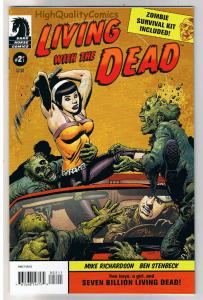 LIVING with the DEAD #2, NM+, Richard Corben, Zombies, 2007, more RC in store