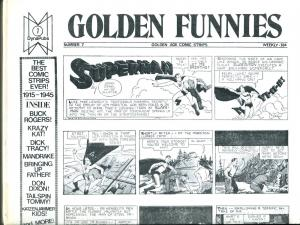 Golden Funnies #3  2003-Dyna Pubs-pulp and film fanzine-VF