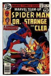 Marvel Team-up #80-SPIDER-MAN, DR. STRANGE, CLEA comic book
