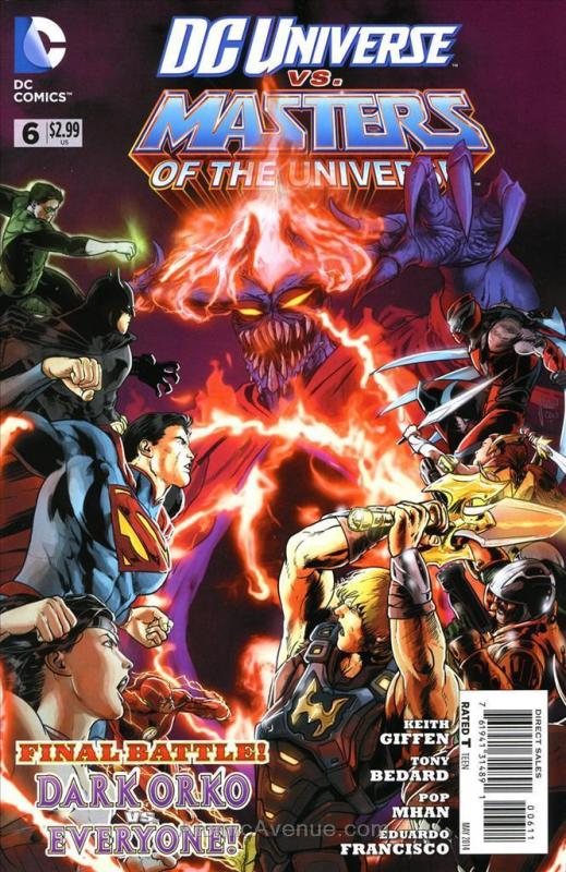 DC Universe vs. Masters of the Universe #6 VF/NM; DC | save on shipping - detail
