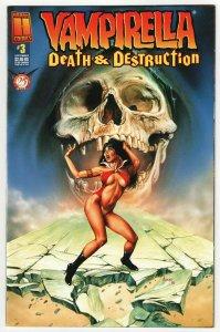 Vampirella Death & Destruction #3 (Harris, 1996) FN/VF