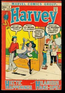 HARVEY #4-MARVEL COMICS-HIPPY COVER VG