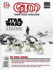 GTM Game Trade Magazine #216 Star Wars Legion (2018) - New!