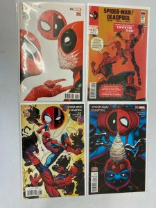 Spider-Man Deadpool lot 4 different from #6-9 NM (2016)