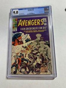 Avengers #14 (Marvel, 1965)  CGC Graded 9.0