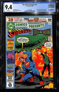 DC Comics Presents #26 (Oct 1980, DC) - CGC 9.4!