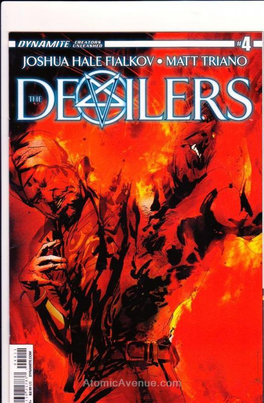 Devilers, The #4 VF/NM Dynamite - save on shipping - details inside