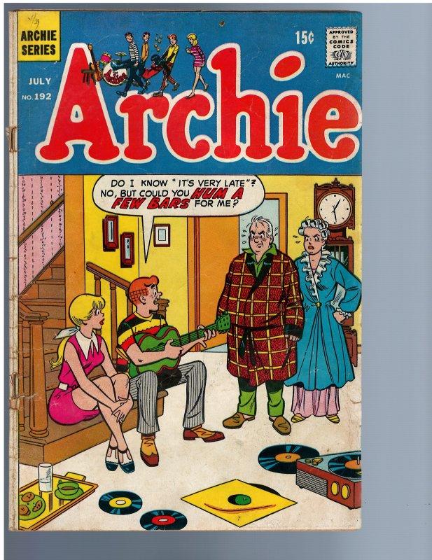 Archie #192 (1969)