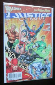 Justice League (2011) #1 - 8.0 VF - 2011