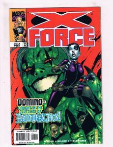 X-Force #92 VF 1st Print Marvel Comic Book Wolverine X-Men DE3