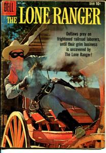 Lone Ranger #130 1959-Dell-Clayton Moore photo cover-VG