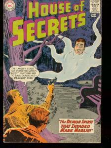 HOUSE OF SECRETS #59 1963 DC COMICS MARK MERLIN'S DEMON VG