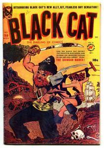 Black Cat #28 1951- Kit origin- photocopy cover