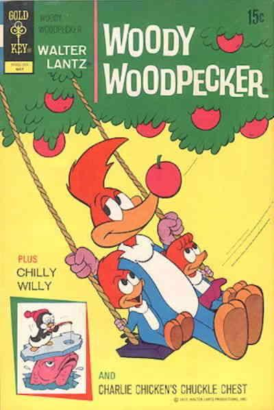 Woody Woodpecker (Walter Lantz…) #123 FN; Dell | save on shipping - details insi