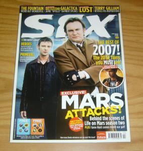 SFX #153 VF/NM terry gilliam - battlestar galactica - life on mars - spider-man