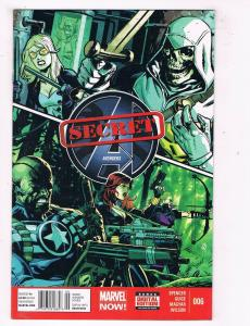 Secret Avengers #6 VF Marvel Comics Comic Book Spencers Aug 2013 DE45