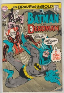 Brave and the Bold, The #86 (Nov-69) VG/FN+ Mid-Grade Batman, Deadman