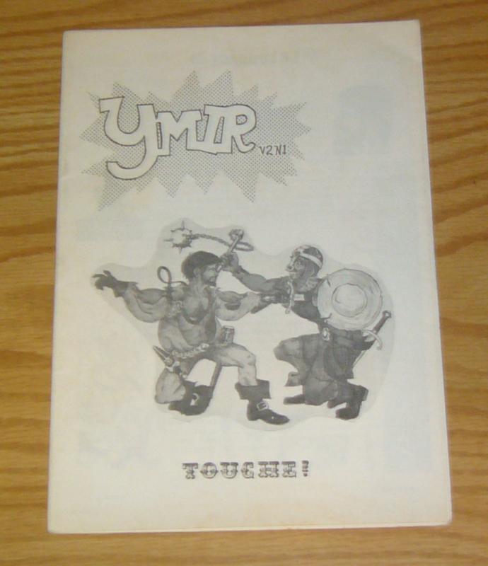 Ymir vol. 2 #1 FN fanzine - ec comics - little green dinosaur underground comix