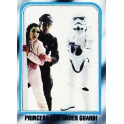 1980 Topps Star Wars The Empire Strikes Back PRINCESS LEIA UNDER GUARD! #219 EX