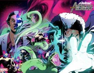 Savage Avengers #5 Schiti Immortal Wraparound Variant (Marvel, 2019) NM