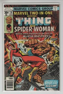 MARVEL TWO-IN-ONE (1974 MARVEL) #30 VF+ A97011