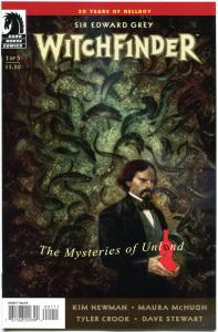 WITCHFINDER #1 2 3 4 5, NM, Mysteries of the Unland, 2014, Witch, 1-5, Horror