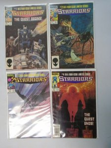 Starriors set #1-4 6.0 FN (1984)