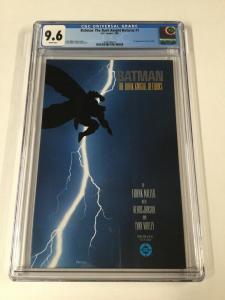 Batman The Dark Knight Returns 1 Cgc 9.6 White Pages First Print Dc 2030396013