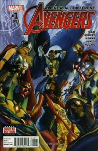 All-New, All-Different Avengers #1 VF/NM; Marvel   save on shipping - details in