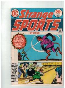 STRANGE SPORTS STORIES 1 VERY GOOD-FINE October 1973
