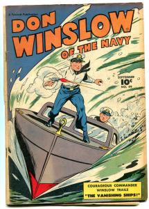 DON WINSLOW OF THE NAVY #49 BOXING STORY CAPT TOOTSIE G/VG