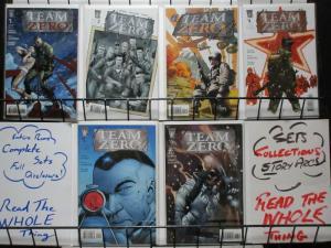 TEAM ZERO (2006 WS) 1-6  complete series!