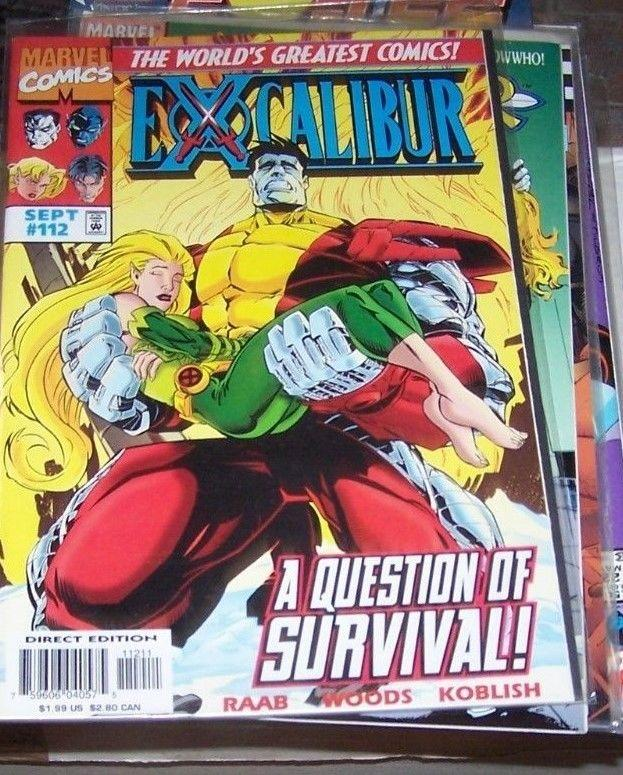 Excalibur #112 (Sep 1997, Marvel) COLOSSUS MEGAN WSDOM NIGHTCRAWLER