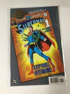 Superman 233 Millenium Edition Nm Near Mint DC